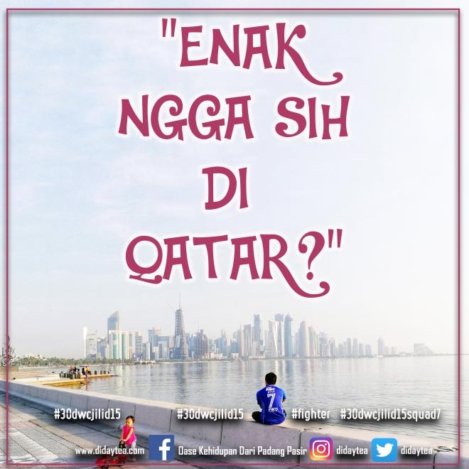 Enak Ngga Sih DI Qatar
